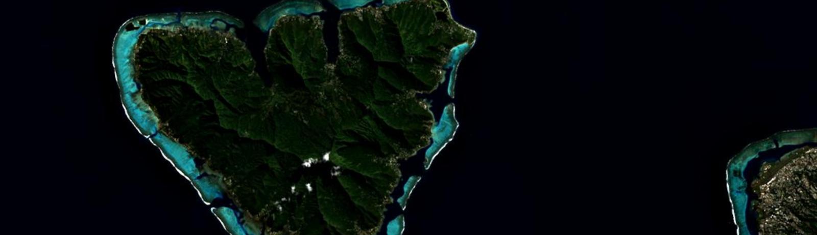 Tahiti. Landsat-8 20 mai 2020