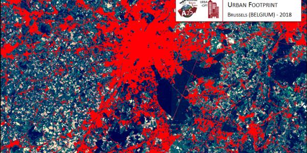 Urban Footprint Bruxelles